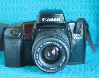 Canon EOS Elan Camera with Canon EF mount 35-80mm lens Working