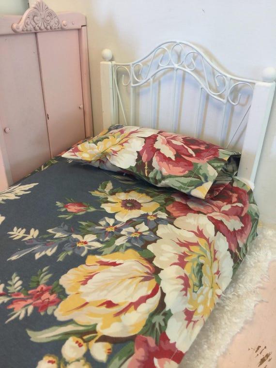 Doll Sheet Set-18 inch Doll Designer fabric Bedding see listing