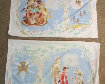 Vtg E.T Pillowcase / Lising is for ONE / 1982 E.T. Pillowcase / Standard Size