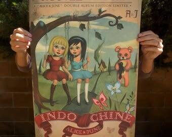 Alice et June - Signed Giclee Print