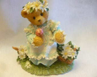 Cherished Teddies, Kimberly, Summer Brings a Season of Warmth, 1997, Enesco, Priscilla Hillman, Registered, No Box, Excellent Condition