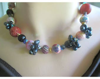 Vintage Beads & Seeds necklace from BASIA'S Private  Collection