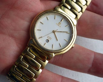 Vintage Noblia Watch - Gold Plated - Works.