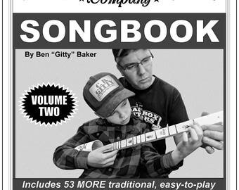 American Canjo Songbook - Volume 2 - 53 more Easy-to-play  Songs