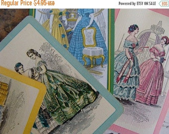 ON SALE Antique Les Modes Godey Ladies 2nd Series