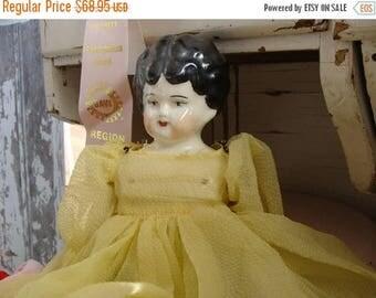 ONSALE Beautiful Antique German Signed Heirloom Doll