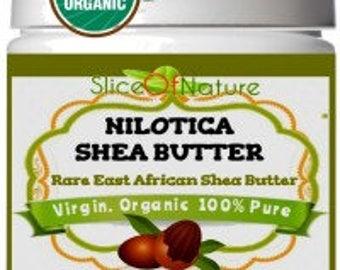 Slice Of Nature Nilotica East African Shea Butter Virgin skin butter hair treatment moisturizing shea butter
