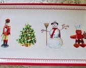 Williams Sonoma Christmas Platter ca. 2010