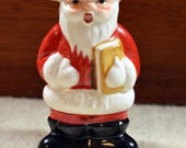 Vintage Goebel Christmas Holiday Ornament, 1978 First Edition, Painted Porcelain, Signed, Mint in Orig Box, Perfect & Sweet