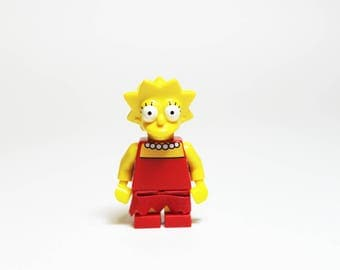 Made from Lego Marg Simpson The Simpsons MiniFigure Lapel Pin OR Tie Tack ONLY ONE