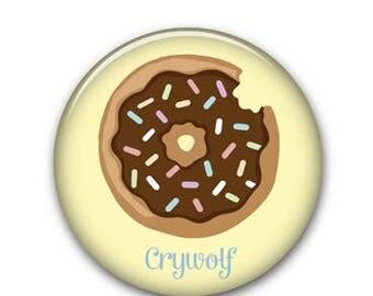 "Donut 1.25"" Button"