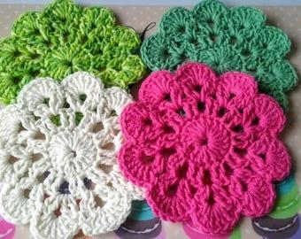 Cotton coasters x Four