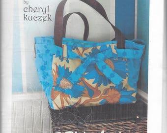 Sale! Carry All shoulder bag pattern (PD002) - Paradiso Designs