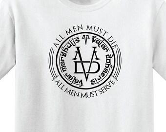 "Game of Thrones - ""VALAR MORGHULIS 2 "" T-shirt -Unisex t-shirt"