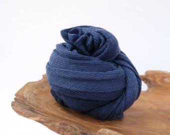 Stretch Knit Wrap, Newborn Wrap, Blue Newborn Photo Prop, Photography Prop, Newborn Stretch Wrap, Baby Wrap, Baby Boy Props, Patriot LuX