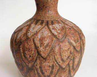 Mid Century Vase, Signed
