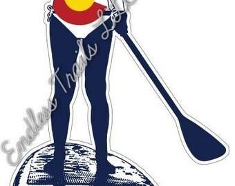 Colorado Logo Paddle boarding
