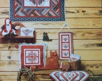 Cross Quilt Pattern Log Cabin Christian Cross Twin Size