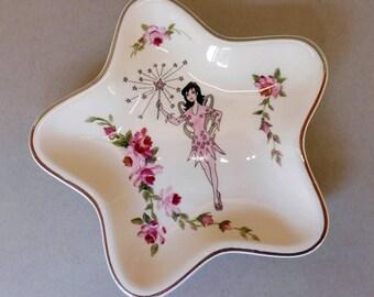 Rose Fairy Star Plate