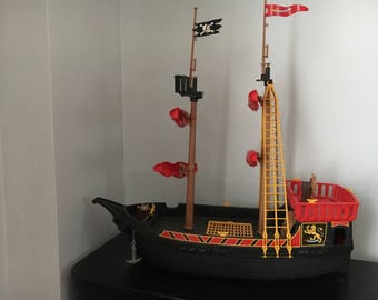 Playmobil pirate ship-Blackbeard