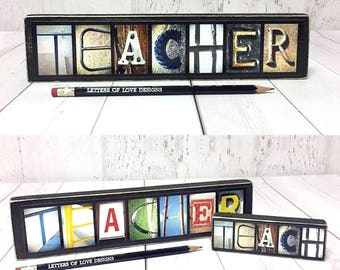 Teacher Gift, Classroom Decor Sign, Teach Wood Sign, Teacher Sign, Gifts for Teachers, Classroom Decoration Art, Back to School Sign Picture