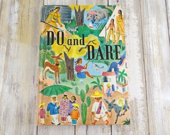 Vintage Do or Dare Hardcover Children's Book from 1955 by Barbara Nolen