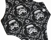Moderate Core- Storm Trooper Knit Reusable Cloth Maxi Pad- WindPro Fleece- 10 Inches (25.5 cm)