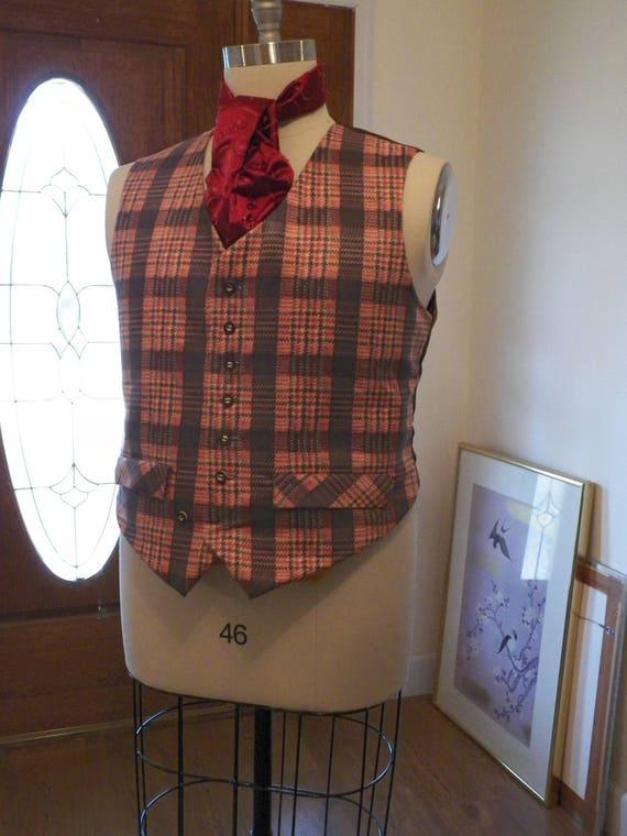 Mens' Dickens Colonial 1700 Vest Waistcoat
