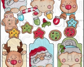 Christmas Clan Clipart Collection- Immediate Download