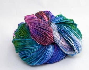 Ice Dyed Sock yarn - Icicle nr: 53
