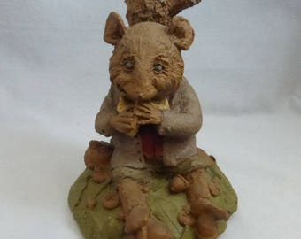 Vintage Cairn Studio Tom Clark Mr. Rat from The Wind in the Willows Resigned