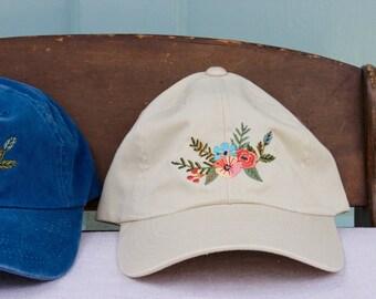 The Eleanor Baseball Hat | Light Tan