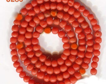 Mediterranean Natural Coral Beads,  Rich Color,  Mini Beads 5159.5192.5224.5278