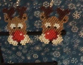 Raindeer earrings