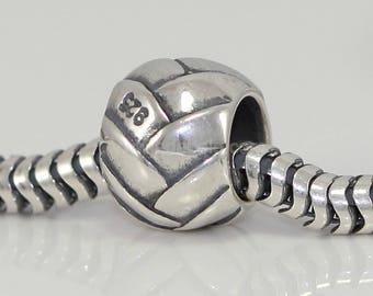 1pc Sterling Silver Charm Treasure Relationship Charm Bead for European Charm Bracelets #EC114