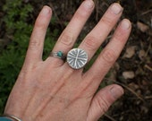 Hunky Bloom Ring MADE TO ORDER in your size