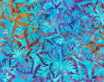 Robert Kaufman - Artisan Batik - Songbird - Jewel - Fabric by the Yard AMD16126201