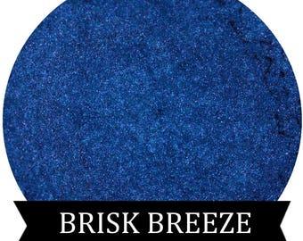 BRISK BREEZE Bright Shimmery Blue Eyeshadow