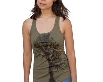 Oak Tree| Racerback Yoga Tank Top| Lightweight Soft| S-XXL| Yoga top| tree hugger| summer top| best seller| Gift for her.