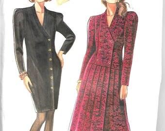 Simplicity New Look Pattern #6586, womens dress pattern, sizes: 8-18. Uncut