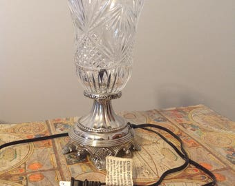 Vintage Electric Hurricane Lamp Etsy