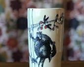 Bird Cup Vase Tumbler