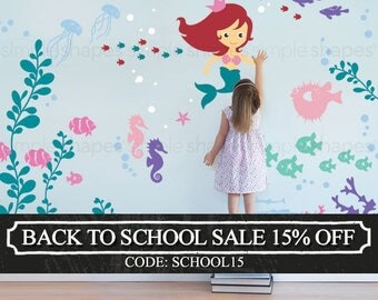 Under the Sea Wall Decal Collection