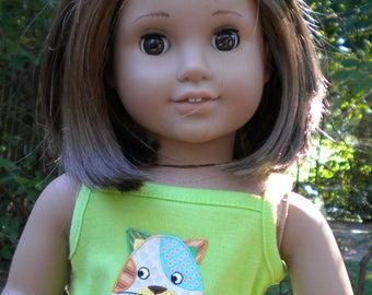 """Skirt set for 18"""" dolls like American Girl"""