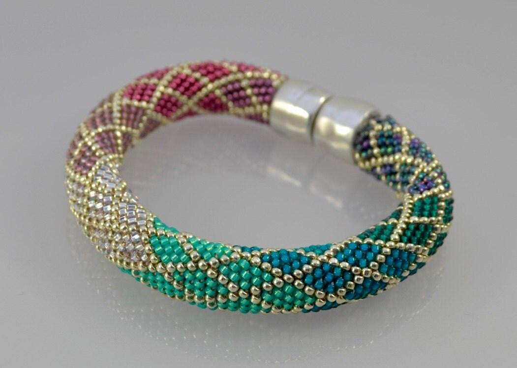 Ombre Single Stitch Bead Crochet class