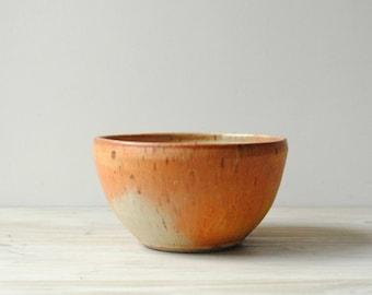 Vintage Handmade Pottery Bowl, Ceramic Bowl, Serving Bowl, Studio Pottery Bowl