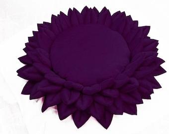 Meditation Cushion-Floor Pillow-Purple Pillow-Yoga-Yoga Gift-Velvet Pillow-Eye Pillow-Meditation Decor-meditation seat-Boho Pillow