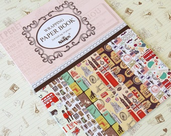 Ninge FANCY CARTOON Wrapping Paper Book - No 4