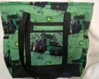 John Deere Tote Bag, Diaper Bag, Carry-On Bag, Book Bag