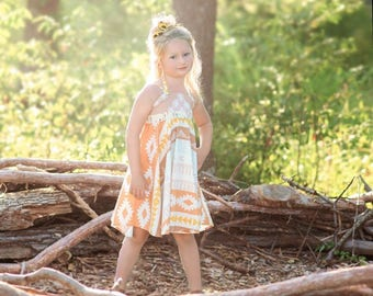 Roundabout Dress and Top PDF Sewing Pattern, including sizes 6months-8,years, Girls Dress Pattern